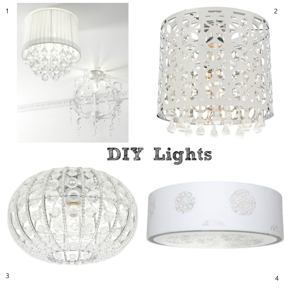 Bedroom Ceiling Lights Bunnings : Diy light fittings decorator